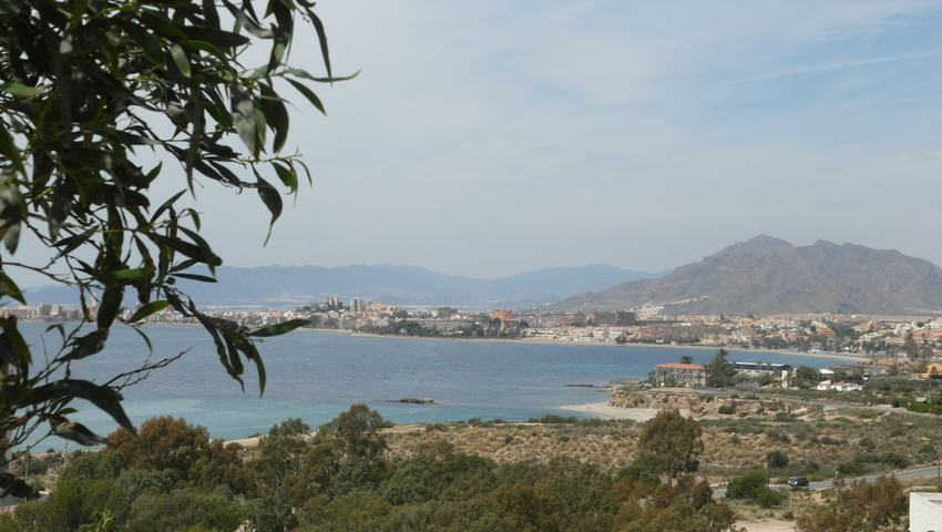 Double plot with sea views for sale in Isla Plana #30702-en