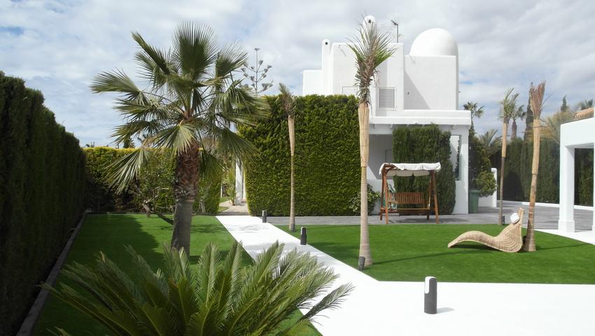 Реконструированный роскошный коттедж в Ла Азоийа (продажа)