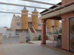 Duplex with sea views and pool for sale in Puerto de Mazarron #10307-en
