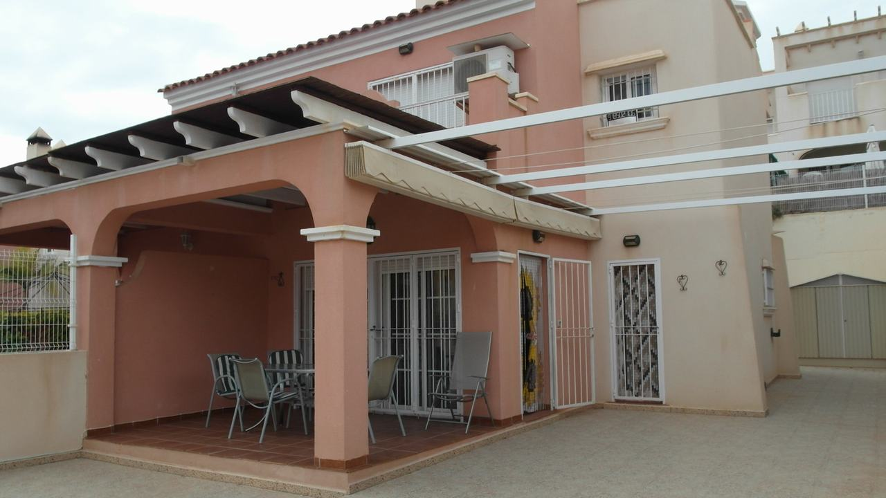 Duplex semi-detached with sea views and pool in Puerto de Mazarron #10307-