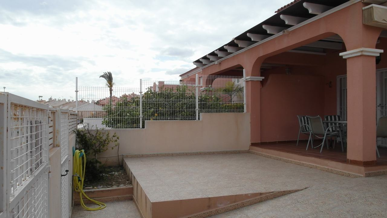 Duplex semi-detached with sea views and pool in Puerto de Mazarron