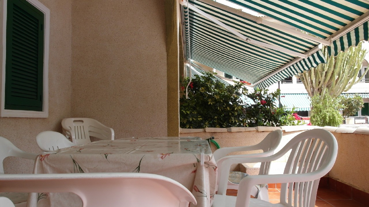 Ground floor partment with terrace and pool for rent in Puerto de Mazarrón #130220-en