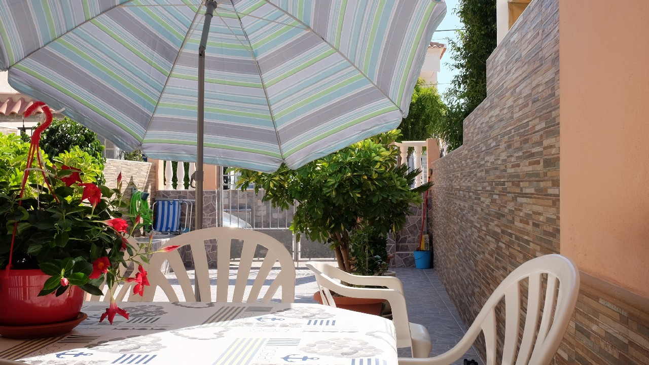 Refurbished duplex for sale in Puerto de Mazarron