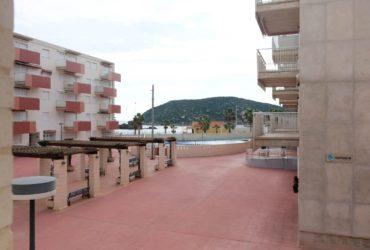 Apartamento con vistas al mar, A/A y parking en alquiler vacacional en Puerto de Mazarron #120510