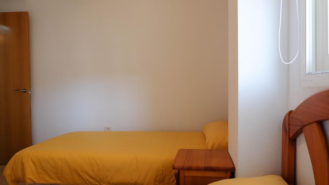 Apartamento con vistas al mar, A/A y parking en alquiler vacacional en Puerto de Mazarron