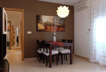 Apartamento en planta baja, con A/A y parking doble en alquiler vacacional en Puerto de Mazarron #120520
