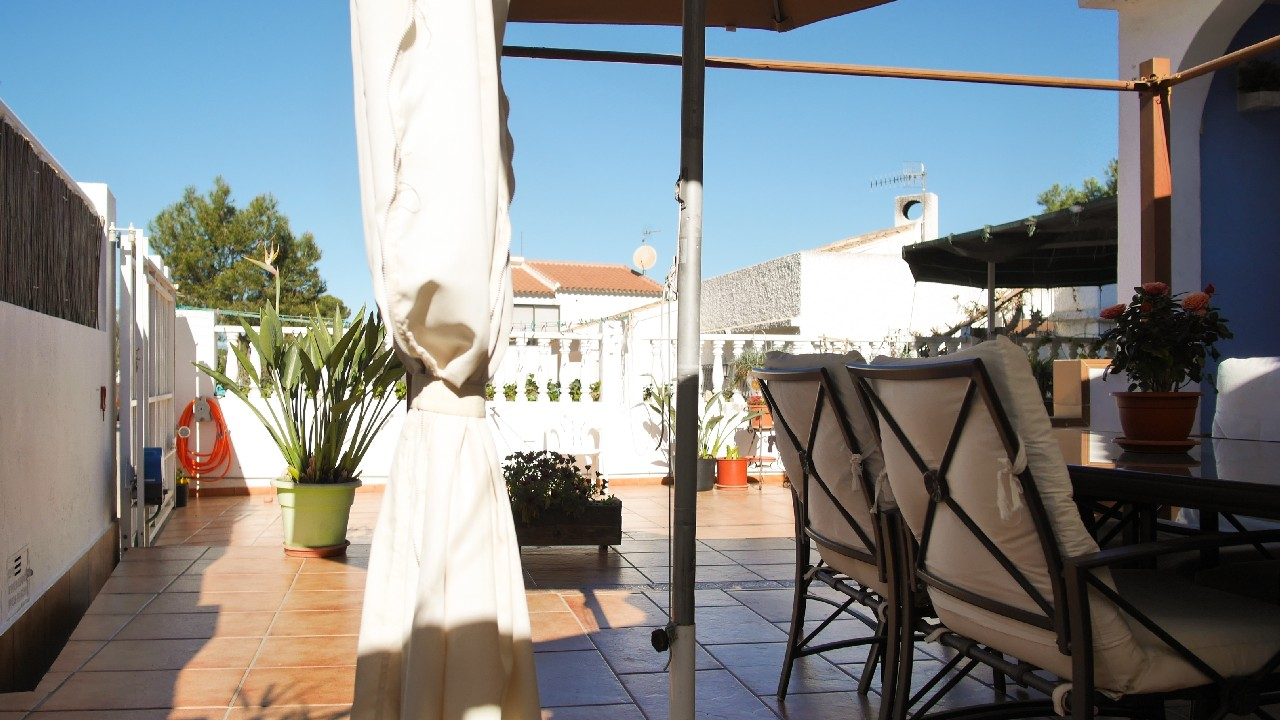 Semi-detached villa in La Cumbre for sale in Puerto de Mazarron
