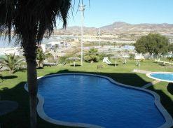 Piso con piscina y parking en venta en el Puerto de Mazarron #07036