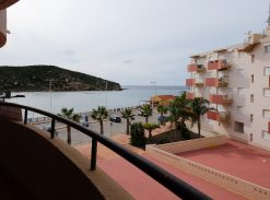 Apartment with sea view and pool for sale in Puerto de Mazarron #12059-en