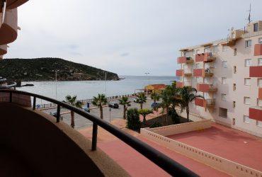 Apartamento con vistas al mar y piscina en venta en Puerto de Mazarron #12059