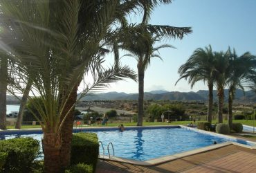 Apartment with parking and pool for holiday rental in Isla Plana #110020-en