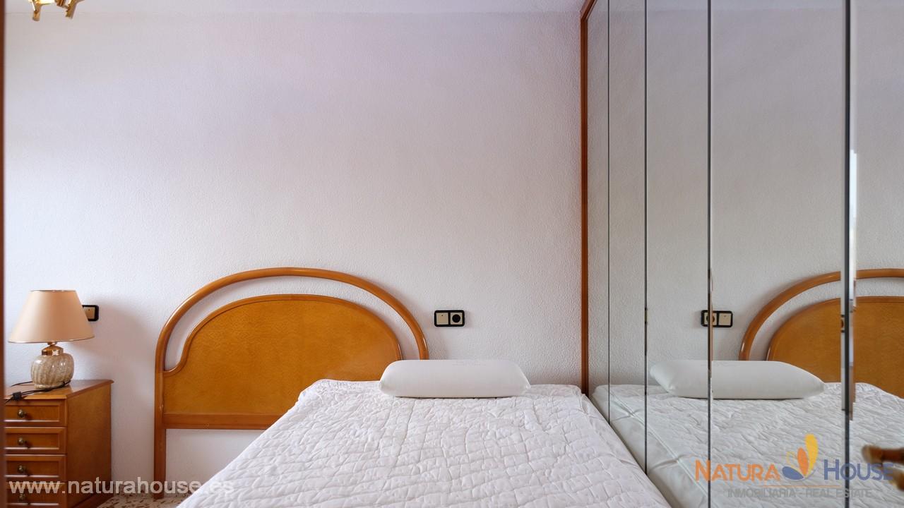 Downtown apartment with terrace for sale in Puerto de Mazarron