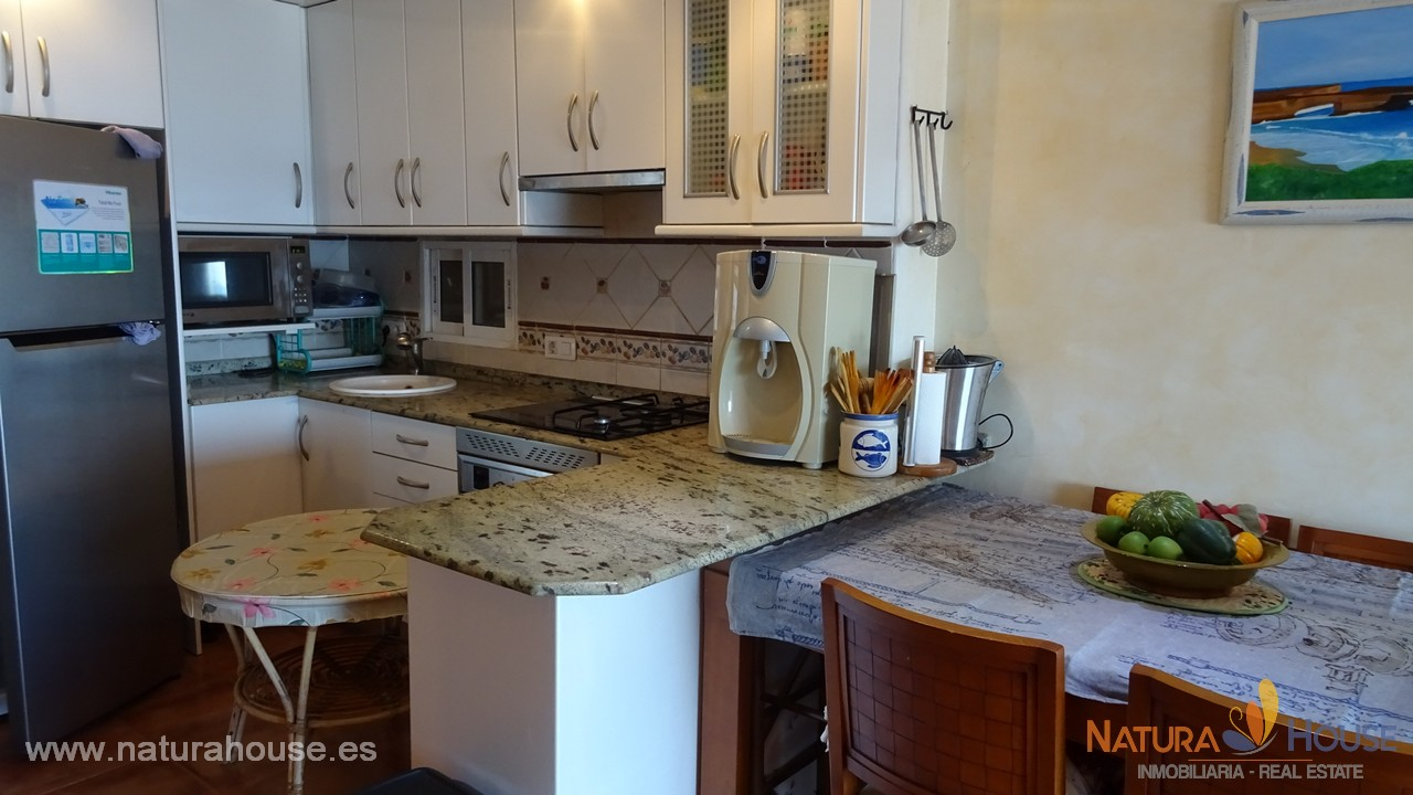 Sea view apartment for sale in Puerto de Mazarron