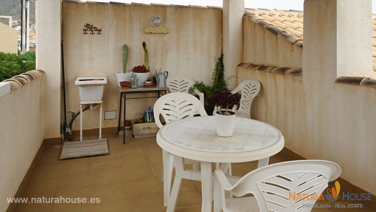 Ático con solárium en venta en Bolnuevo