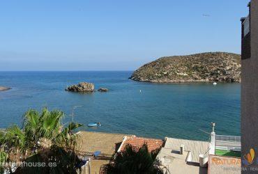 Apartamento con vistas al mar en venta en Puerto de Mazarrón #12064