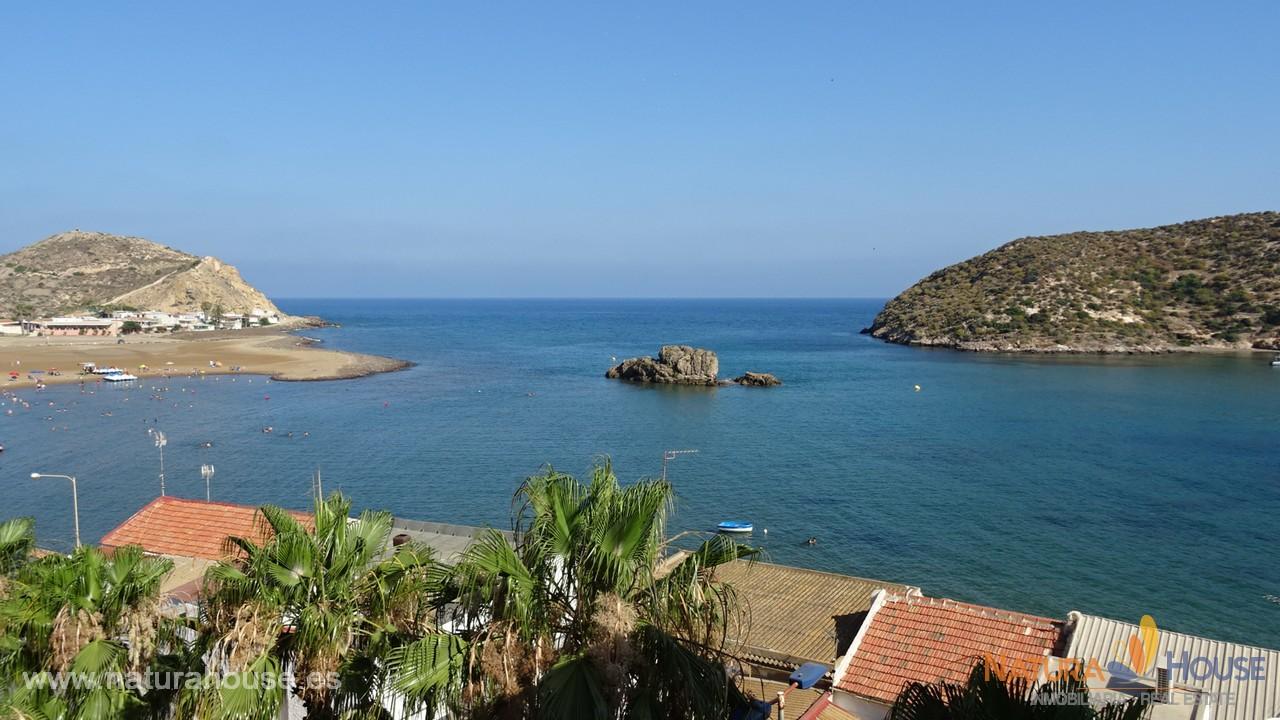 Apartamento con vistas al mar en venta en Puerto de Mazarrón