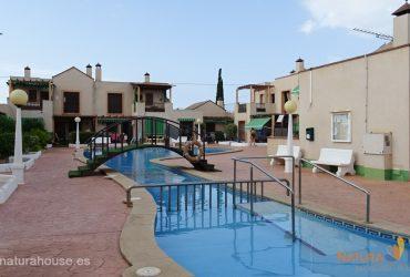 Planta baja con jardín y piscina en venta e Puerto de Mazarron #13035